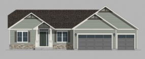 411 Oakbrook Drive, Brookstone Meadows, Lake Mills, Wisconsin, United States 53551, 3 Bedrooms Bedrooms, ,2 BathroomsBathrooms,Home,Sold,Oakbrook Drive,1235